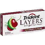 Жвачка TRIDENT LAYERS Sweet Cherry+Island Lime