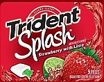 Жвачка TRIDENT LAYERS Splash Strawberry With Lime