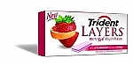 Жвачка TRIDENT LAYERS Wild Strawberry+Tangy Citrus