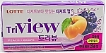 Жвачка TriVIEW Peach-Grape (Тривью персик+виноград), пластинки